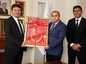 Denetimli Serbestlik Müdüründen Başkan Dinçer'e ziyaret