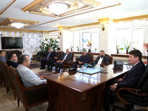ATSO yönetiminden Başkan Dinçer'e hayırlı olsun ziyareti