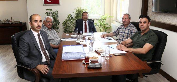 OSB Yönetim Kurulu Toplantısı gerçekleştirildi