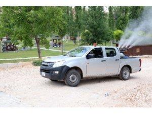 Aksaray'da haşerelere karşı etkin mücadele