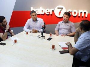 Belediye Başkanı Evren Dinçer, haber7.com'un 'Gündem Masası'na konuk oldu