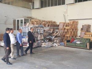 ATSO yönetiminden fabrikalara geçmiş olsun ziyareti