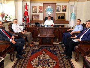 AK Parti İl Başkanı Hüseyin Altınsoy'dan Başkan Dinçer'e ziyaret