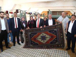 Tarihi Taşpınar Halıları Aksaray'ın önemli bir markası
