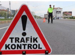 Aksaray'da 1 ayda 385 araç trafikten men edildi