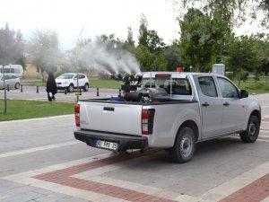 Sivrisinek ve haşerelere karşı önlemler alındı
