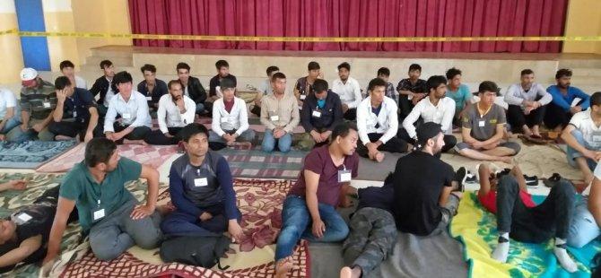 Aksaray'da 78 kaçak göçmen yakalandı