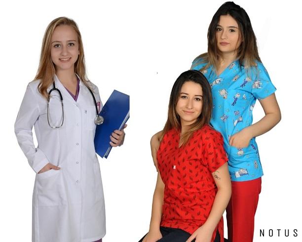 Tıbbi İş Kıyafetlerinin Adresi www.notusuniform.com