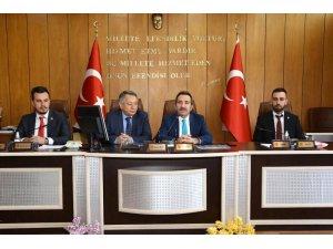 Vali Ali Mantı, İl Genel Meclisi toplantısına katıldı