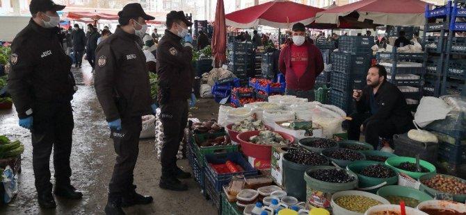 Aksaray'da polis ve bekçiler 20 yaş altı çocuk ve gençleri evlerine gönderdi