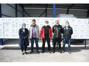 Vefa Sosyal Destek Grubu Aksaray'da çalışmalarını sürdürüyor