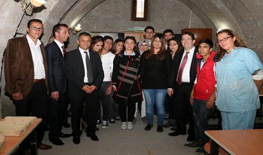 Başkan Yazgı, Güzelyurt MYO Öğrencilerini Ziyaret Etti