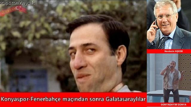 Fenerbahçe Konya'da iki puan kaybetti, Capslar coştu