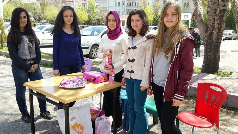 Aksaray Osman Gazi Anadolu Lisesinden  Kutlu Doğum Programı