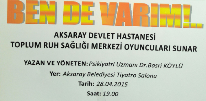 Aksaray Devlet Hastanesi'nden Türkiye de bir ilk 'ben de varım