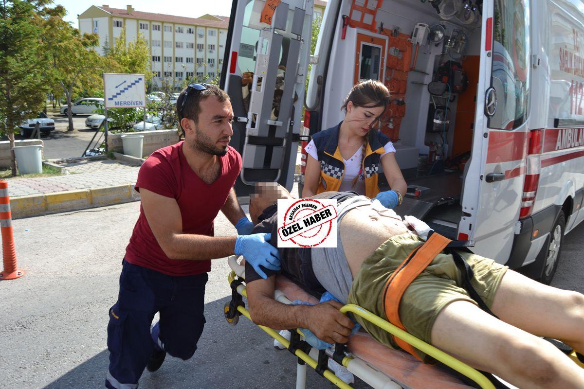 Aksaray'da bir kişi bıçaklanarak öldürüldü!