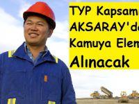 TYP Kapsamında Kamuya Eleman Alınacak