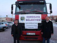 Eşmekaya Bayırbucak Türkmenlerini Unutmadı