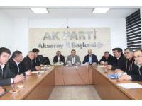 Aksaray AK Parti Teşkilatı Köy Muhtarları İstişare Toplantısı Yaptı