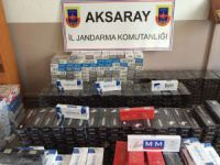 Jandarma Otobüste 16 Bin Paket Sigara Ele Geçirdi