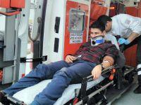Otomobil Şarampole Yuvarlandı: Üç Yaralı