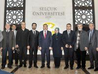Rektör Prof. Dr. Mustfa Şahin'e gönülden destek