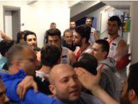 Aksaray Belediyespor'un maçında olaylar çıktı