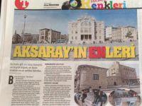 Aksaray'a ulusal basın ilgisi