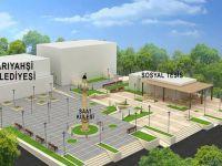 Sarıyahşi'de Yahşibey Kent Meydanı yapımına başlandı