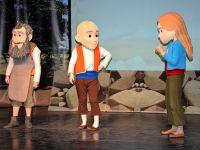 Aksaray'da Keloğlan müzikalini 3 bin öğrenci izledi