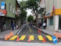 Vehbi Çorakçı Caddesi Bir Gecede Yenilendi