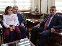Rektör Prof. Dr. Yusuf Şahin Vali Aykut Pekmez'i ziyaret etti