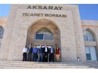 AK Parti Milletvekili Özegen'den Aksaray Ticaret Borsası'na Ziyaret