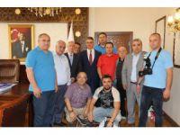 Gazetecilerden Vali Pekmez'e Ziyaret