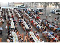 Aksaray'da 3 Bin Kişiye İftar