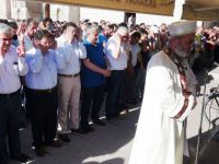 Aksaray'da muhtar ve çiftçilerden darbe girişimine tepki