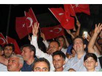 """Başkan Karatay: """"Ezanlarla bir darbe susturuldu"""" dedi"""