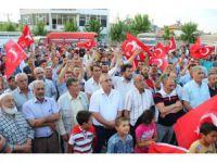 Aksaray'da vatandaş meydanlara indi