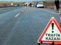 Aksaray'da kaza: 1 ölü