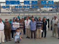 Hacı adayları kutlu yolculuğu başlıyor