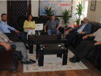 Aksaray Barosu'ndan Albay Gazi Demir'e ziyaret