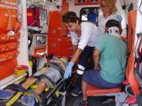 Aksaray'da otomobil TIR'a arkadan çarptı: 5 yaralı