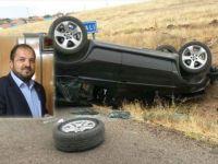 Fatih Ünsal kaza yaptı