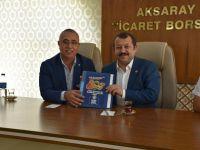 Milletvekili Serdengeçti'den Aksaray Ticaret Borsası'na ziyaret