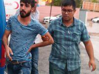Polisi ısıran şüpheli serbest bırakıldı