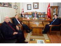 Milletvekili Aydoğdu ve Başkan Yazgı'dan odalar birliğine ziyaret