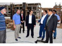 Aksaray'da kentsel dönüşüm projesinde çalışmalar sürüyor
