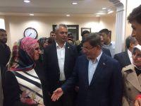 Davutoğlu'ndan Eskilli esnafa telefon sürprizi
