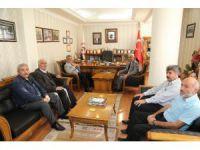 Vali Pekmez Aksaray Esnaf ve Sanatkarlar Odaları Birliğini ziyaret etti