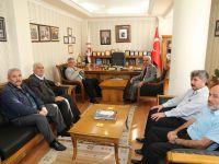 Vali Pekmez'den Aksaray Esnaf ve Sanatkârlar Odaları Birliğine ziyaret